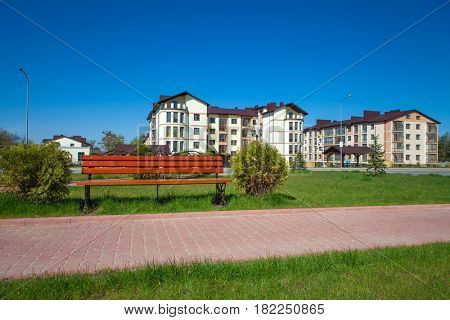 Road with Benches, anchorwoman home