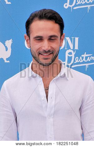Giffoni Valle Piana Sa Italy - July 17 2016 : Marco Palvetti at Giffoni Film Festival 2016 - on July 17 2016 in Giffoni Valle Piana Italy