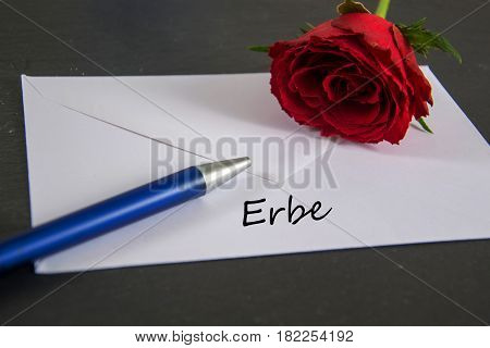 erbe - the german word for heritage