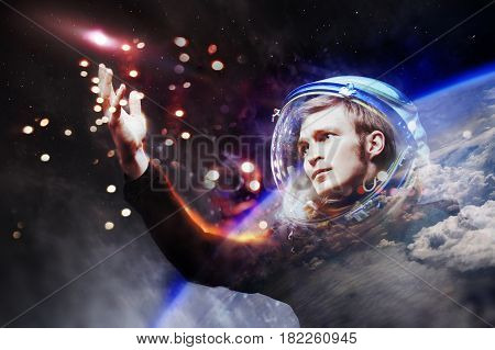 Touch the stars. The concept of space exploration
