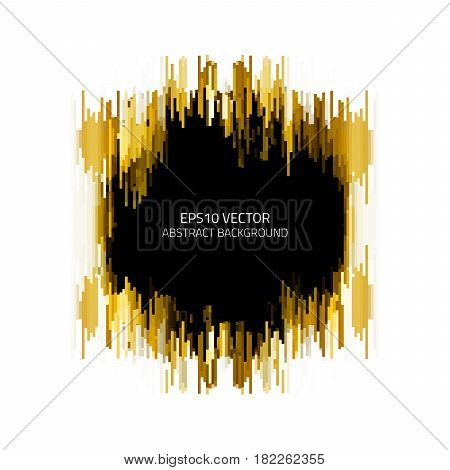 Abstract Background With Chaotically Arranged Geometric Elements.