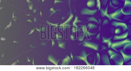 Abstract Pattern With Blurred Shapes.