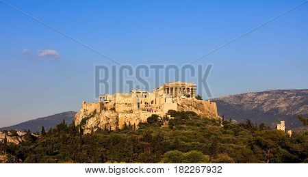Acropolis Of Athens - Greece