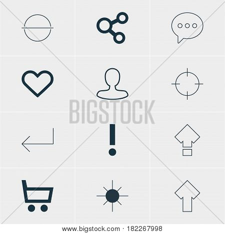 Vector Illustration Of 12 Member Icons. Editable Pack Of Man Member, Full Brightness, Upward And Other Elements.