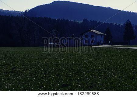 Landschaft; Kammerhof; Pielachtal; März; Crossentwicklung Wald; Wiese; Jahreszeit; Frühjahr Landscape; Kammerhof; Pielachvalley; Forrest; Meadow; Season; Spring; Crossentwicklung