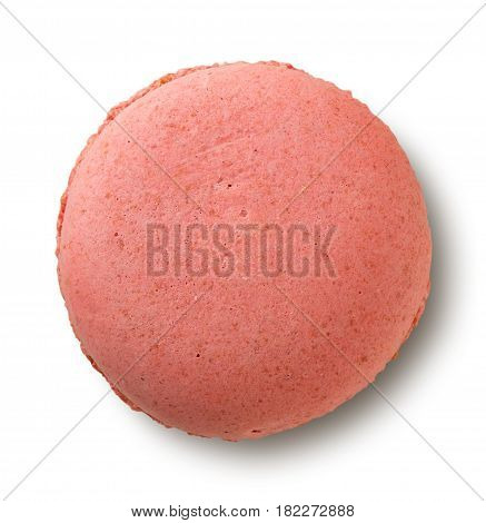 Red Macaron Isolated