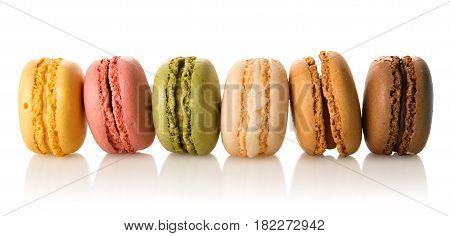 Row Of Macarons