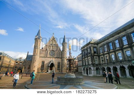 Ridderzaal Binnenhof, The Hague, The Netherlands