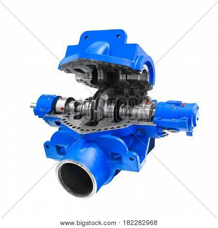Industry power pump compressor for oil transfer