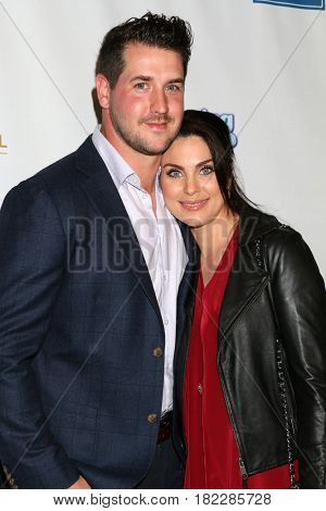 LOS ANGELES - MAR 7:  Grant Turnbull, Nadia Bjorlin at the