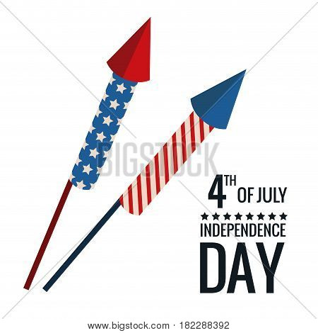 united states independence day celebrate event vector illustration eps 10