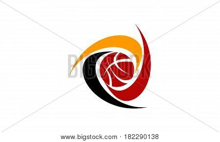This vector describe about Basket Solutions Club