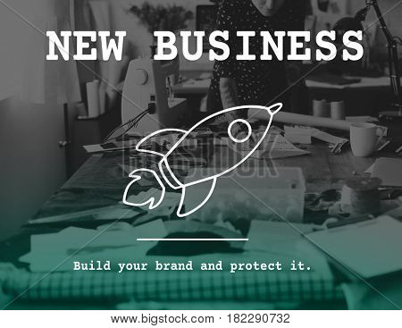 Start Up Business Rocket Icon