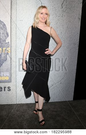 LOS ANGELES - APR 4:  Janel Moloney at the Premiere Of HBO's