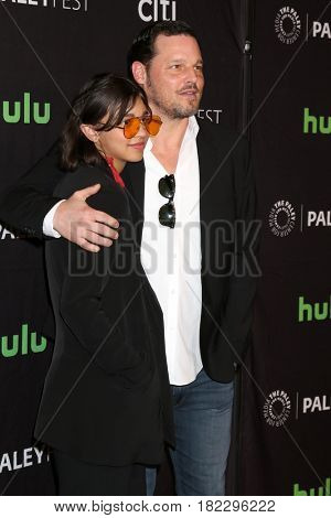 LOS ANGELES - MAR 19:  Ava Chambers, Justin Chambers at the 34th Annual PaleyFest Los Angeles -