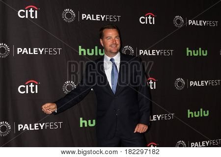 LOS ANGELES - MAR 21:  Chris O'Donnell at the 34th Annual PaleyFest Los Angeles -