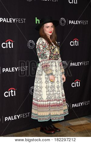 LOS ANGELES - MAR 21:  Renee Felice Smith at the 34th Annual PaleyFest Los Angeles -