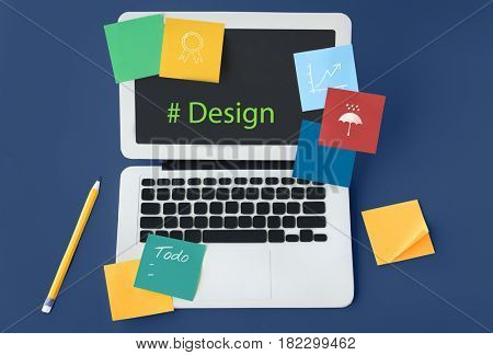 Web Design Coding Program Content Graphic