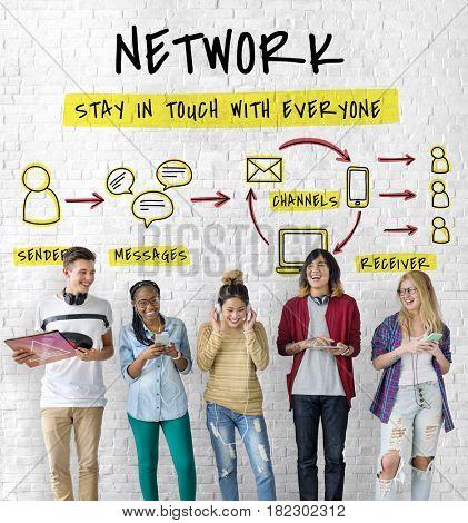 Internet Network Technology Social Network