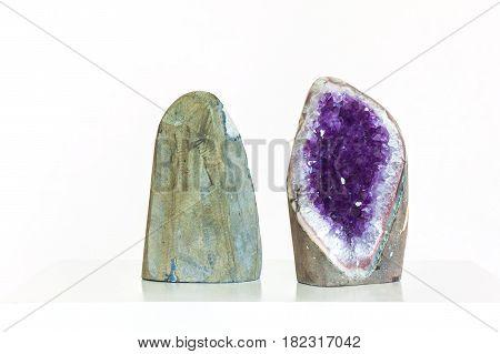 Amethyst Crystal A Semiprecious Gem