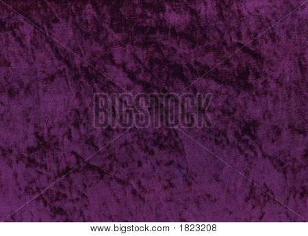 Purple Shimmery Velours