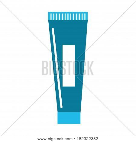 blue medicaal ointment cream lotion treatment, vector illustration