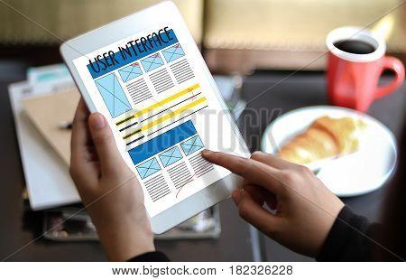 User Interface Global Address Browser Internet Website Design Software Media Www  Domain Html Innova