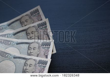 Yen Notes  Money Concept Background Closeup Of Japanese Currency Yen Bank
