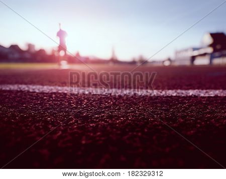 Sport And Healthy Lifestyle Concept, Man Jogging