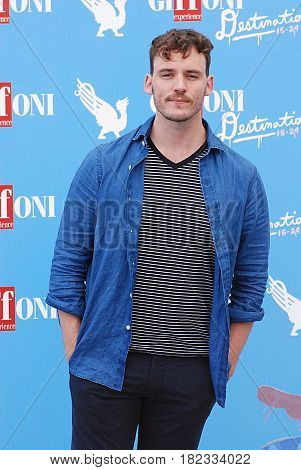 Giffoni Valle Piana Sa Italy - July 21 2016 : Sam Claflin at Giffoni Film Festival 2016 - on July 21 2016 in Giffoni Valle Piana Italy
