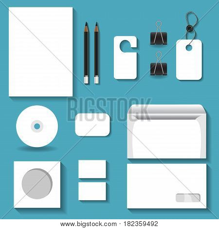 White mock ups for business for your design projects