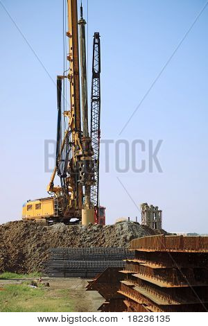 Drill Rig In Site