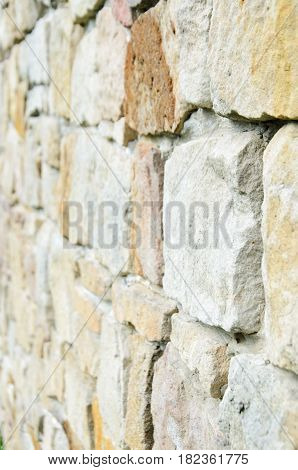 Polish medieval castle texture yellow and brown background