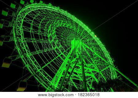The Orlando Eye Is A 400 Ft Tall Giant Ferris Wheel Near Orlando, Florida, Us. It Carried Its First