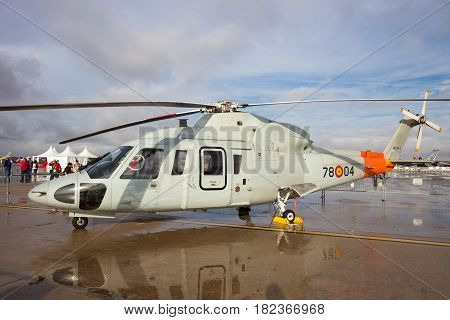 Spanish Air Force Sikorsky S-76 Helicopter