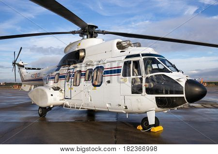 Spanish Air Force Eurocopter Cougar Vip Helicopter