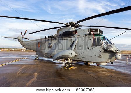 Spain Navy Sea King Helicopter