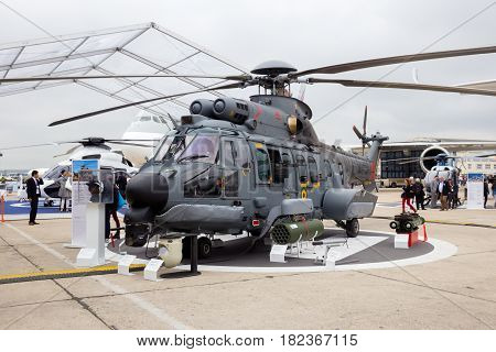 Brazilian Navy Eurocopter Super Cougar Helicopter