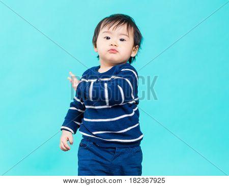 Adorable little boy