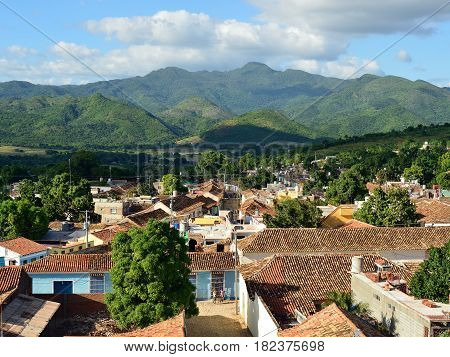 Trinidad city the most tourist city on Cuba