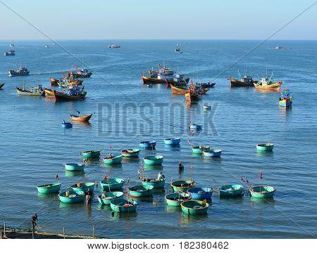 Landscape Of Mui Ne Bay In Southern Vietnam