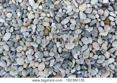 Grey Stone Rubble Rock Close Up Texture, Seamless Background