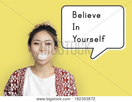 Believe in Yourself Confidence Encourage Strength