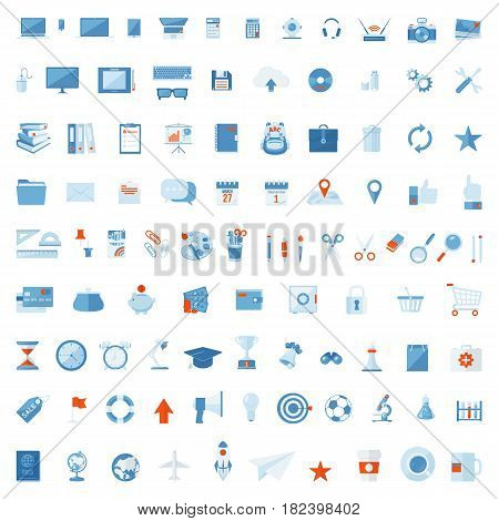 Collection of vector symbol easy to edit and use.