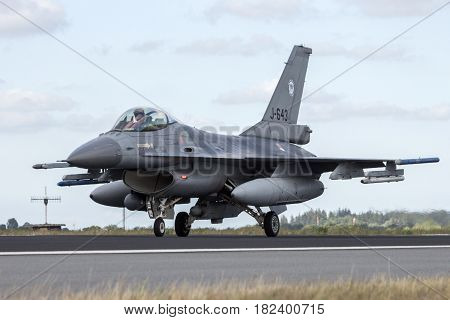 Military F16 Fighter Jet Airplane