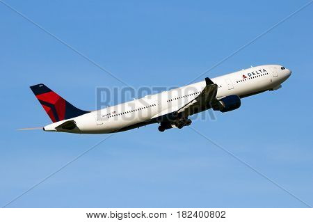 Delta Air Lines Airbus A330 Airplane