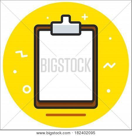 Planchette tablet Icon vector design illustration art