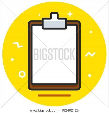 Planchette tablet Icon design illustration art rasterized