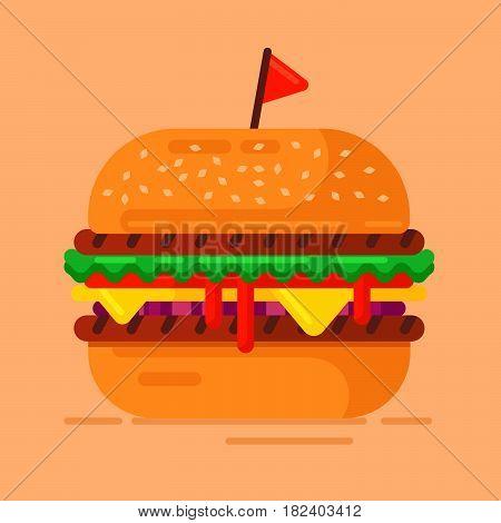 Hamburger-flat Copy