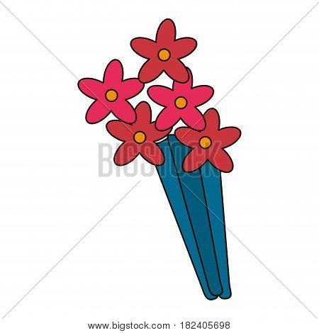 beauty bunch flower decoration vector illustration eps 10